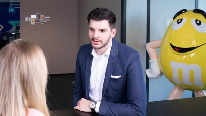 Jan Zahumensky, der neue CFO bei Mars Austria