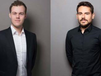 Die PR-Berater Eike Steenken und Florian Hajek