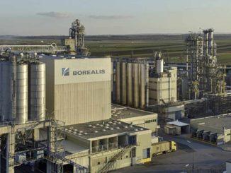 Die Borealis-Anlage in Wien-Schwechat