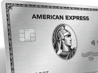 Silberne Kreditkarte