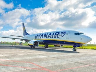 Ein Ryanair-Flugzeug