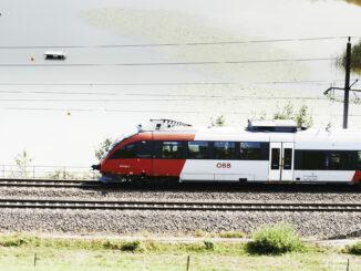 Zug in einer Landschaft