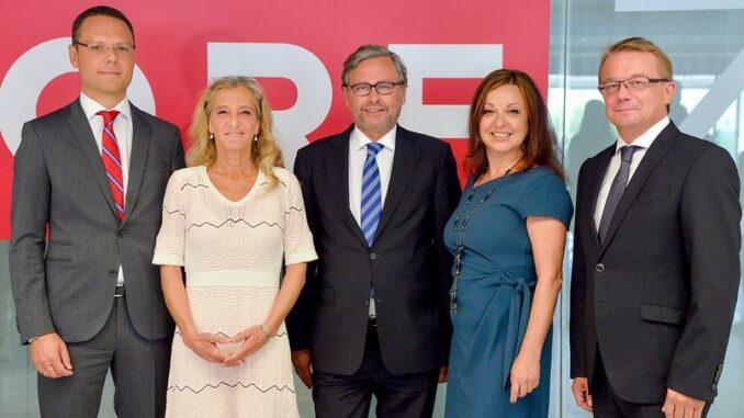 ORF-General Alexander Wrabetz mit Kollegen
