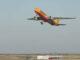 DHL Air Austria Maschine hebt ab